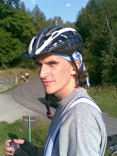 Cyklista Krtek